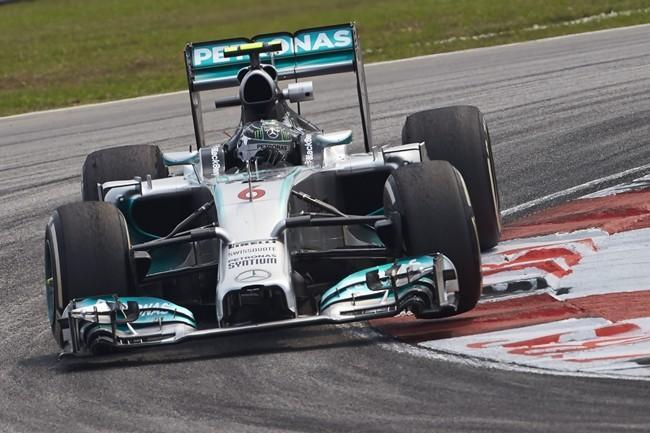 Rosberg hoy 3° en Malasia