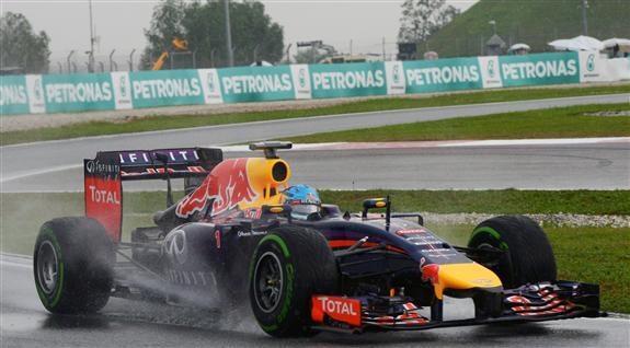 Sebastian Vettel, hoy 2° en Sepang