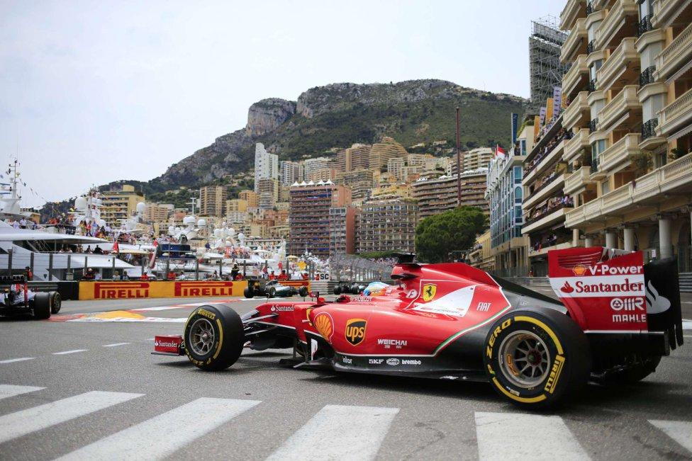 Fernando Alonso culminó 4° en la sexta carrera del año